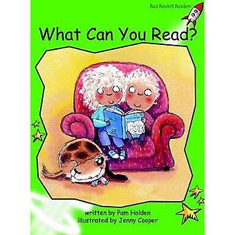 Red Rocket lezers vroege niveau 4 fictie set A wat u lezen door pam Holden