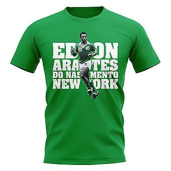 Pele Spelare T-shirt (Grön)