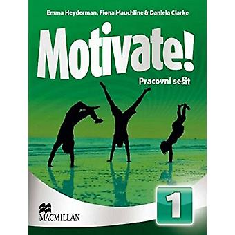 Motivate Level 1 Workbook Czech by Cathy Myers - 9780230487840 Book