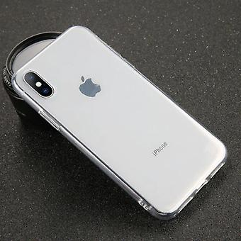 USLION iPhone SE (2020) אולטרה סלים סיליקון מקרה TPU כיסוי מקרה שקוף