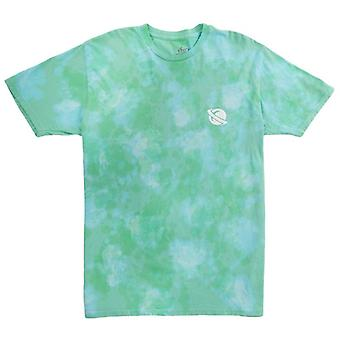 Lost planet washed tee mint wash