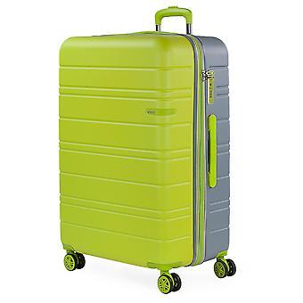 JASLEN San Marino Trolley L, 4 rollen, 49 cm, 128 L, groen