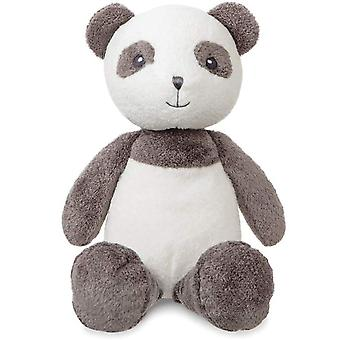 Aurora Bambam Panda,14 inch Grey and White Soft Toy Gift for Babys and older