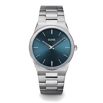 Cluse CW0101503003 Vigoureux Blue Dial Polshorloge