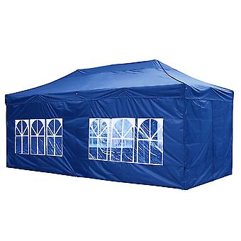 Yescom 10x20 FT Easy Pop Up Canopy Folding Wedding Party Tent with Removable Sidewalls & Carry Bag Outdoor Navy