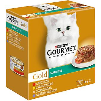 Gourmet Wet Food Tartallette with Meats and Vegetables pack (Cats , Cat Food , Wet Food)