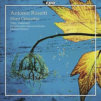 A. Rosetti - Antonio Rosetti: Horn Concertos [CD] USA import