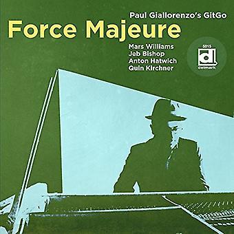 Giallorenzo, Paul / Gitgo - Fuerza Mayor [CD] Importación de EE.UU.