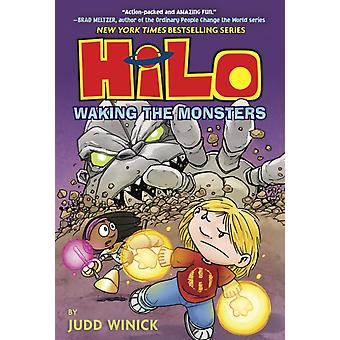 Hilo Book 4 Waking the Monsters by Winick & Judd