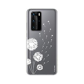 Hull For Huawei P40 Pro Soft Flower Of Pissenlit