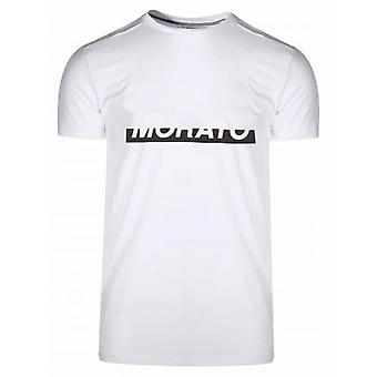 Antony Morato White Raised Logo T-Shirt