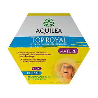 Aquilea Top Royal Mature 20 ampoules of 15ml