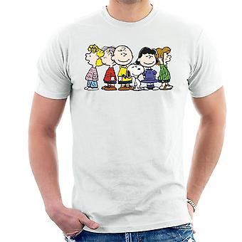 Pinda's groep glimlacht mannen T-Shirt