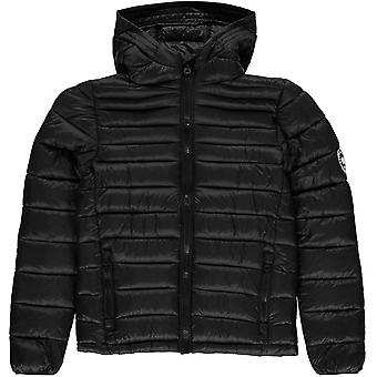 SoulCal Micro Bubble Hooded Jacket Junior Boys