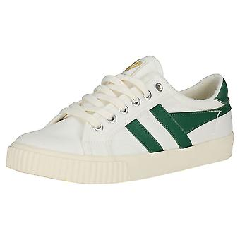 Gola Tennis Mark Cox Mens Casual Trainers in Off White Green