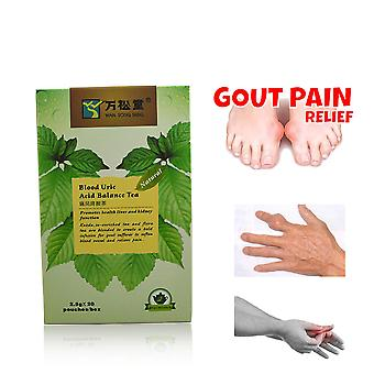 Blood Uric Acid Balance Tea For Joint Pain Reduce Fat Pure Natural Herbs Tea