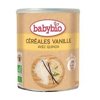 Cereal Porridge With Organic Vanilla (6 Months) 220 g of powder (Vanilla)