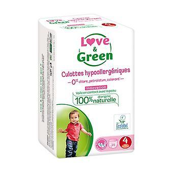 Love & Green Culottes Hypoallergà © niques T4 x20 20 units