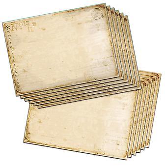 Polkadoodles Vintage Journal Kaarten A5 Pack