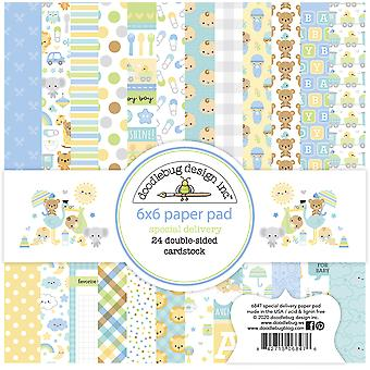 Doodlebug Design Special Delivery 6x6 Inch Paper Pad