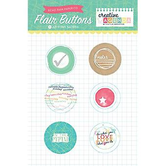Echo Park Creative Agenda Flair Buttons