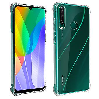 Huawei Y6p Back Cover with Reinforced Angles Akashi - Transparent