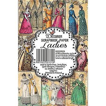 Decorer Ladies Paper Pack (7x10.8cm) (M36)