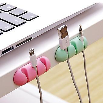 Kabel winder wire lagring - skrivebord ryddig arrangør for digitale kabler