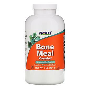 Nu voedingsmiddelen, beendermeel, poeder, 1 pond (454 g)