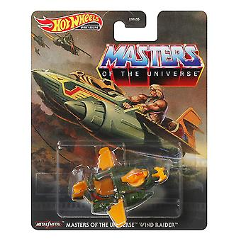 Diecast Car Hot Wheels Masters of The Universe Wind Raider Toys 816341