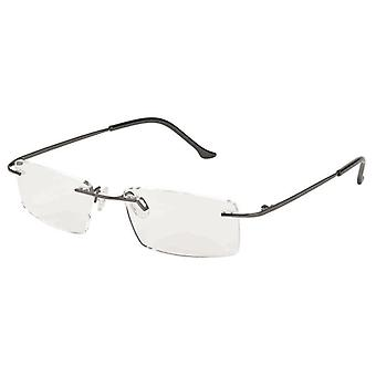 Reading Glasses Unisex Libri_x Modern Black Strength +2.00
