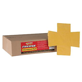 Everbuild Firespan Intumescent Double Socket Pad (Box 20) FSPANDBLE