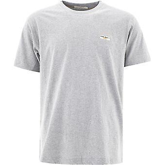 Nudie Jeans 131613b04 Heren's Grijs Katoen T-shirt
