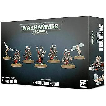Taller de Juegos Warhammer 40,000 - Adepta Sororitas: Retributor Squad
