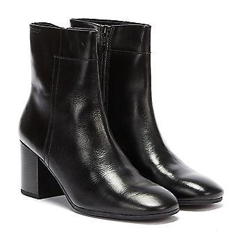 Bottes en cuir noir Vagabond Nicole Womens