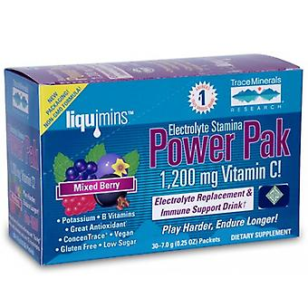 Trace Minerals Electrolyte Stamina Power Pak, Non-GMO Mixed Berry 1 Pack