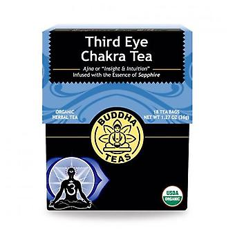 Buddha Teas Organic Third Eye Chakra Tea, 18 Bags