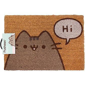 Pusheen The Cat Says Hi Door Mat 40 x 60 x 1.3cm