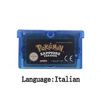 32 Bit Video Game Cartridge Console Card- Poke Series Eng/fra/gre/esp/ita Language For Nintendo Gba