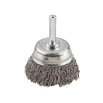KWB HSS Crimped Cup Brush 75mm Coarse KWB606330