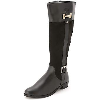 Karen Scott Womens Deliee Almond Toe Knee High Riding Boots