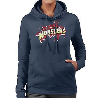 Universal Studios Monsters Blood Logo Women's Hooded Sweatshirt