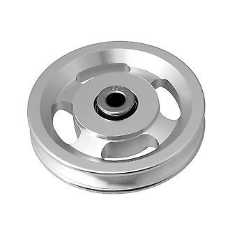 U Trough Rolling Bearings Pulley Wheel 10mm ID 93mm OD 18mm Width