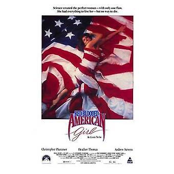 Vermelho sangue American Girl Movie Poster (11 x 17)