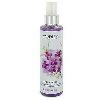 April Violets By Yardley London Body Mist 6.8 Oz (women) V728-545968