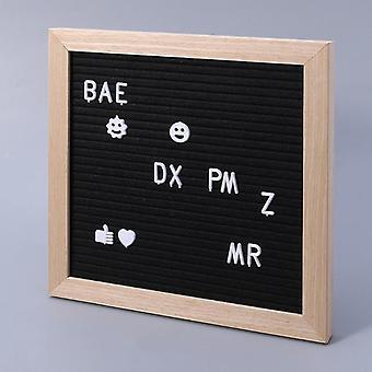 Tekens voor Vilt letter bord nummers voor veranderlijke