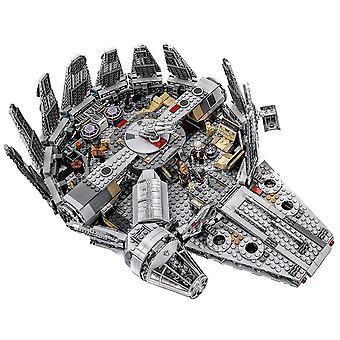 Compatible Lepining Star Wars Millennium Falcon Spacecraft Building Blocks