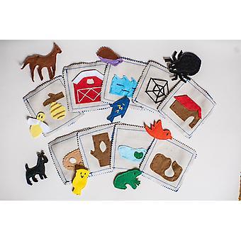 Animal Habitat Matching Game