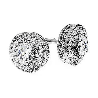 Boucles d'oreilles 14K White Gold 3/4 Carat Diamond