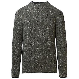 Eleventy B76magb25mag0b01907 Men's Green Cashmere Sweater